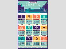 31 Cool Ideas For Calendar Design 2016 Web & Graphic