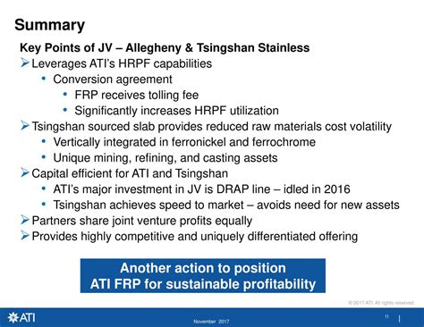 Allegheny Technologies (ATI) And Tsingshan To Form Joint ...