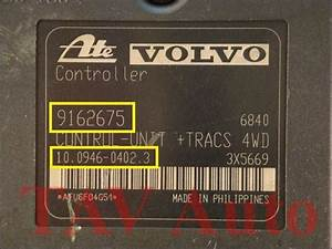 Abs  Tracs Hydraulic Unit Volvo 9157654 A 9162675 Ate 10020400544 1009