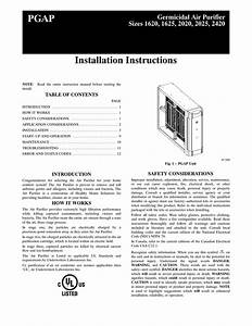 Carrier Infinity 2420 Instruction Manual