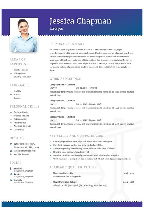 Cv Curriculum Vitae Template by Chapman Lawyer Cv Resume Template Designs