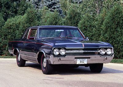 1965 Oldsmobile Cutlass 4-4-2: A Profile of a Muscle Car ...