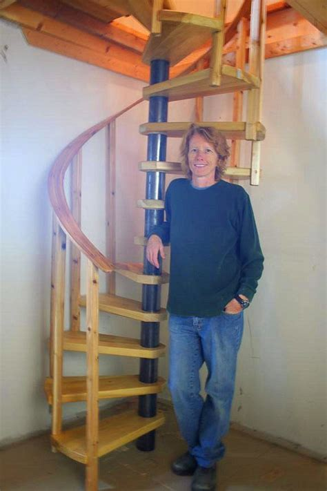 diy spiral stair plans tiny house stairs diy stairs spiral stairs