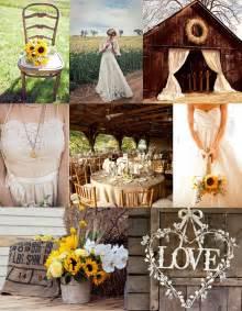 Rustic Sunflower Wedding Ideas