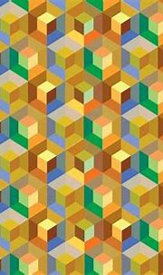 Cube Pattern Background Vector - Download Free Vectors ...