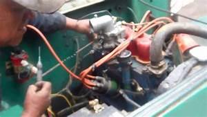F-head Hurricane Engine First Test