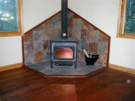slate tile wood stove surround tile wood stove and slate