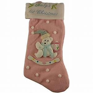 Pms, 38cm, Babies, 1st, Christmas, Stocking