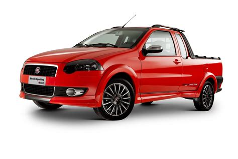 Fiat Brazil by Fiat Sports Up Its Strada Truck In Brazil Carscoops
