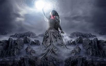 Witch Fantasy Background Wallpapers 1920