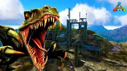 Ark Survival Evolved Wallpapers Dino Hunter Build