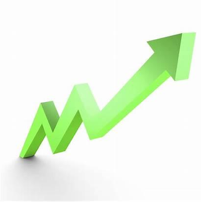 Arrow Growth Market Graph Clipart Clip Rising