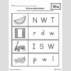 Letter W Practice Worksheet Myteachingstationcom