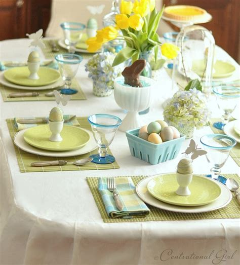 easter table settings an easter table centsational girl