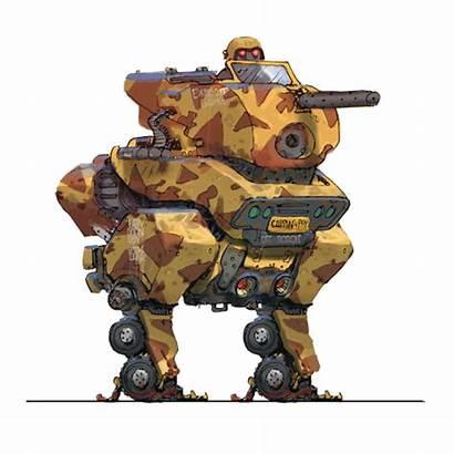 Konstad Alex Robot Concept Genesis Wars Personal