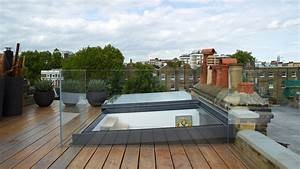 Sliding over rooflight provides ease of access to ...