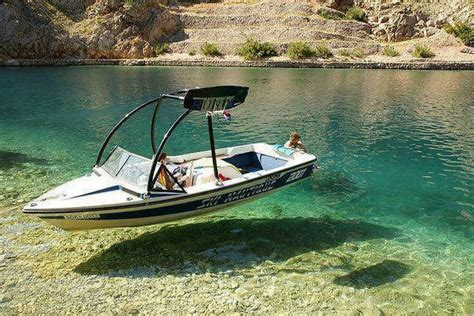 The Greek Islands Water Clear Boats Look