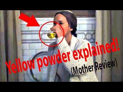 mother review  yellow powder explained youtube