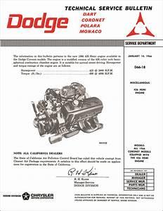 1966 Coronet Wiring Diagram Manual Reprint