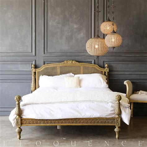eloquence furniture eloquence vintage carved bed 1940 kathy kuo home