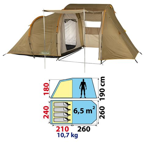 tente 4 places 2 chambres seconds family 4 2 xl tente 4 places trendyyy com