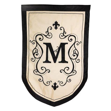 evergreen monogram decorative garden flag free shipping ebay
