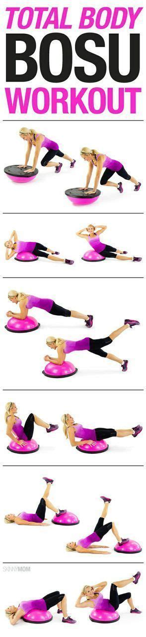 infographic total body bosu ball workout fabrication