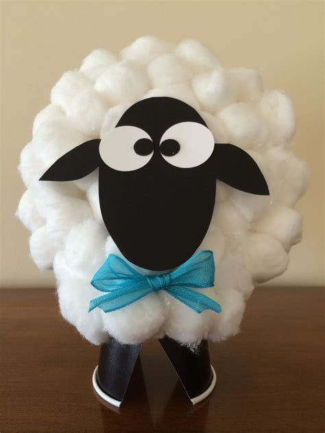 cotton ball sheep sheep crafts toddler art projects
