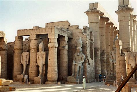 the temple of luxor ancient egyptian temples ancient egypt facts