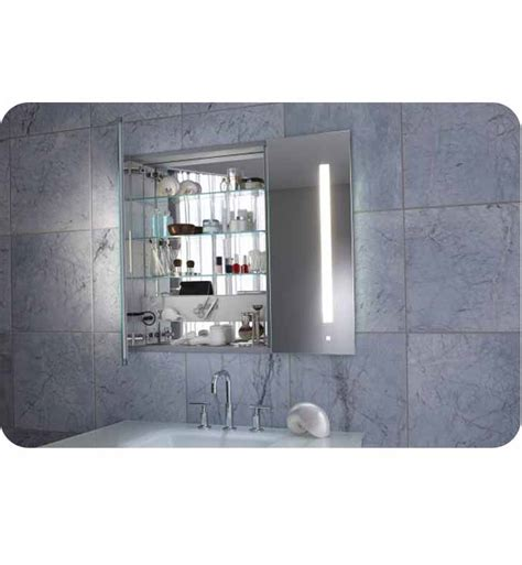 medicine cabinet with lights built in robern ac3630d4p2l aio 36 quot wide dual door medicine cabinet