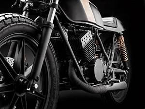 Racing Caf U00e8  Yamaha Rd 400  U0026quot Club Black  3 U0026quot  By Wrenchmonkees