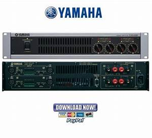Yamaha Xm4080   Xm4180 Service Manual  U0026 Repair Guide