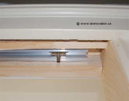 comment installer une porte coulissante