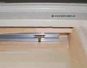 Fabriquer Porte Coulissante Placard : poser des portes de placard coulissantes 5 comment ~ Premium-room.com Idées de Décoration