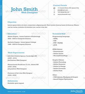 One page resume template learnhowtoloseweightnet for Free 1 page resume template