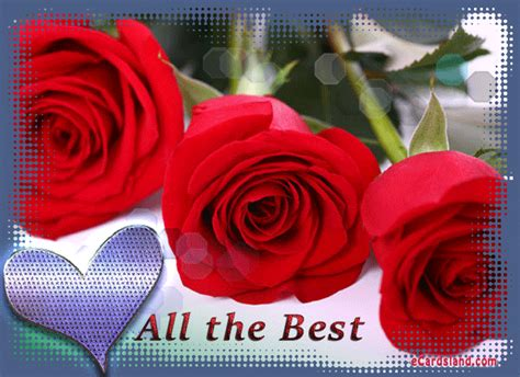 All The Best  Choose Ecard From Flowers Ecards