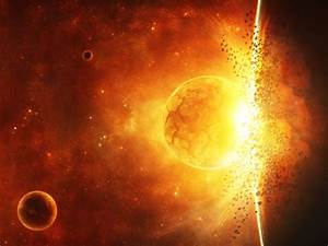 Crashing Planet Explosion | Welcome to SpaceWallpapers ...
