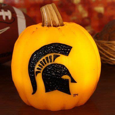 Michigan State Spartan Pumpkins