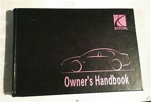 1997 97 Saturn Handbook Owner U0026 39 S Manual