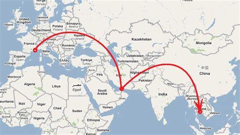 Carte Du Monde Dubai by Voyage En Thailande 2010