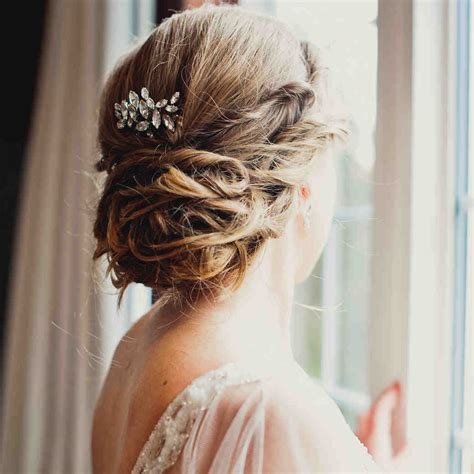 bridal hairstyles martha stewart weddings