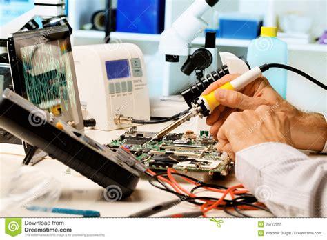 Repair Circuit Boards Royalty Free Stock Photo Image