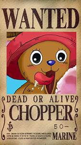Chopper Wanted Poster by valkyriefairy on DeviantArt