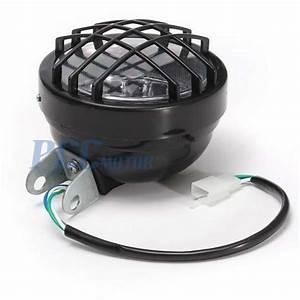 12v Led 3 Wire Headlight Lamp W   High Low Beam Atv Go Kart