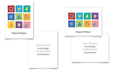 greeting card templates word publisher