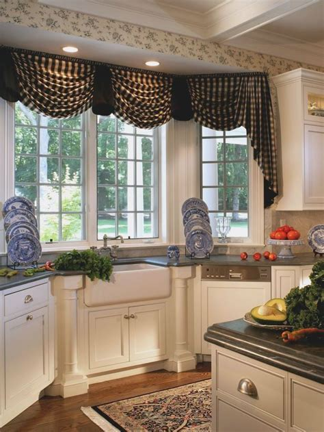 Kitchen Bay Window Decor Ideas by Bay Window Kitchen Treatments Sink Search