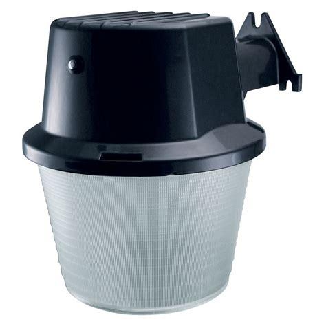 shop utilitech 42 watt black cfl dusk to security