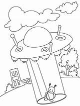 Ufo Coloring Pages Beyond Come Near Thoughts Printable Getcolorings Library Clipart Popular sketch template