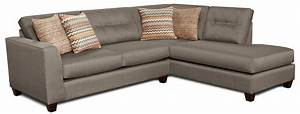 Fusion furniture fandango mocha contemporary sectional for Flexsteel 4 piece sectional sofa with right arm facing chaise in brown