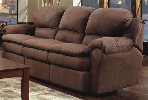 microfiber sectional recliner sofa chocolate microfiber modern double reclining sofa